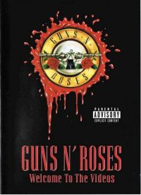 Cover Guns N' Roses - Welcome To The Videos [DVD]